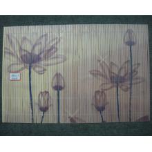 (BC-M1030) Ручной естественной бамбуковой прямоугольник теплоизоляции Placemat