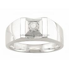 Bague et anneau en acier à crémaillère 3D