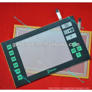 touch screen JC5 with front panel for Staubli jacquard machine