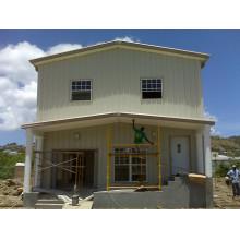 Maison de structure métallique résidentielle (KXD-SSB1408)