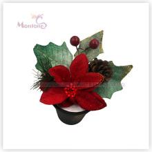 15cm X′mas Decorative Flowers Christmas Tree Decoration