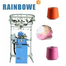 Mechanische manuelle rb 6ftp Terry und Plain Socken Webmaschine für stricken Baumwollsocke
