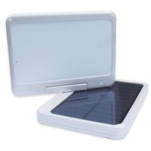 Drehbares und faltbares Solar-Handy-Energien-Bank-Ladegerät mit LED-Licht