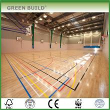 high quality basketball court wood flooring in Guangzhou
