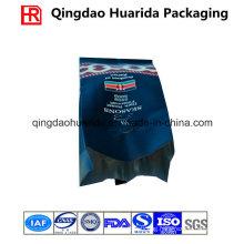 Matte Four-Side Seal Plastic Coffee Bag Made of Aluminum Foil
