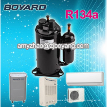 rotary compressor for dry cleaning machine