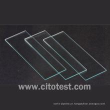 Lâminas de microscópio simples regulares (0303-0003)