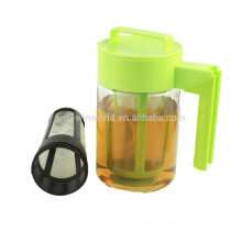 Promotional Christmas Gift Airtight Leakproof BPA-Free Tritan Plastic Cold Brew Coffee Maker