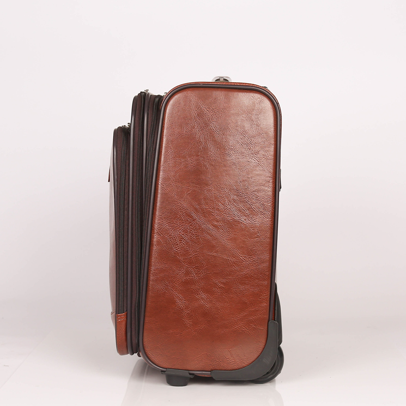 Customed PU luggage bag