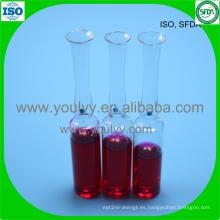 Ampolleta de vidrio tipo 2 USP de USP