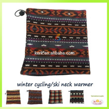 Promotional polar fleece balaclava neck warmer beanies ski scarf