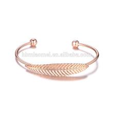 Großhandel Rose Gold Glücksarmband Legierung Armband