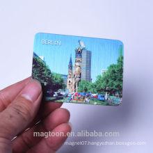 2016 custom berlin tourist souvenir metal drawing fridge magnets