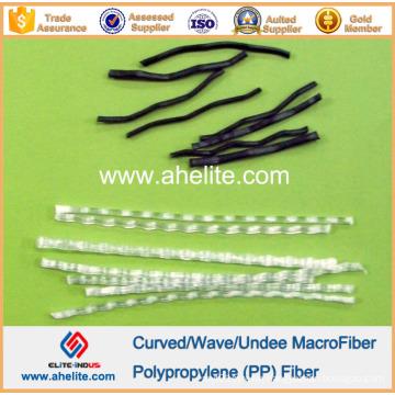Engineering Fibre PP Wave Fiber Macro Curved Fibres 54mm
