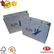 Bolsa de papel a todo color con logotipo impreso