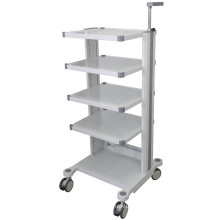 Superior Stainless Steel Instrument Rolling Cart Hospital Trolley with Wheels