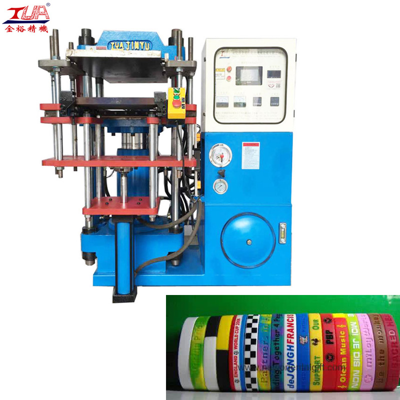 Custom Logo Souvenir Silicone Rubber Wristbands Machine