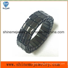 Shineme Body Jewelry High Quality Fashion Black Plated Ring (SSR2739)