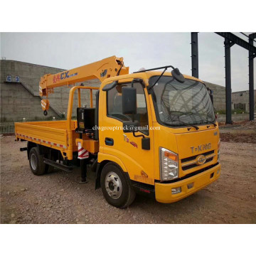 Folding boom truck mounted crane 3.5 tons