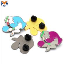 Promotional Gift Metal Custom Table Tennis Pin Badge