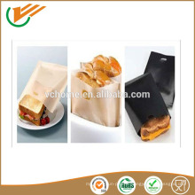 2015 sacs à biscuits réutilisables antiadhésifs en PTFE poches en sandwich à toastie