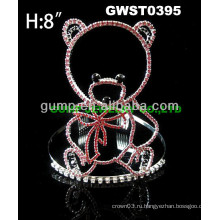 Дешевый горный хрусталь тиара крона -GWST0395