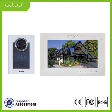 Color Villa Video Intercom dengan Door Release