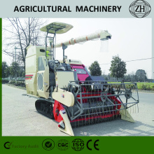 Full-Feeding Combine Harvester with Crawler Belt