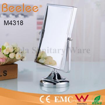 Miroir de loupe de maquillage de salle de bains rectangle rectangle ajustable de mode