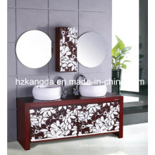 Solid Wood Bathroom Cabinet/ Solid Wood Bathroom Vanity (KD-433)