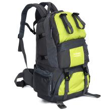 50l grande volume impermeável nylon mochila de acampamento ao ar livre (yky7286)
