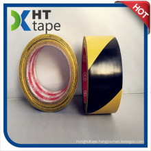 Black and Yellow Color PVC Adhesive Tape