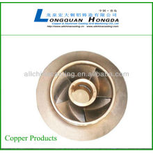 sand casting brass parts copper parts