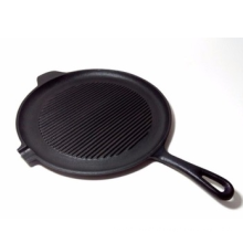 Assitant Handle Grill Pan With One Single Oil Boca