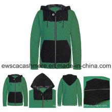 Men′s Solid Color Pure Cashmere Sweater