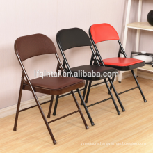 cheap price folding plastic chair meeting train chair