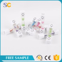 Hot Sale Mini Colorful Plastic Hourglass Sand Timer