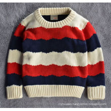 hot sale european korean style boys sweater/cotton design sweater for kids