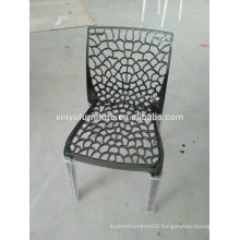 2016 hollow design cheap plastic chair for event rent XYN2748