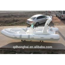 RIB580C inflataboe barco com ce console barco de borracha barco da Marinha