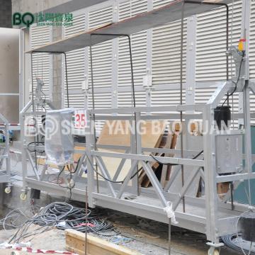 Plate-forme de travail de 6m plate-forme suspendue 800kg