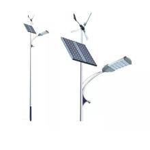 Lampadaires complémentaires éolien-solaire