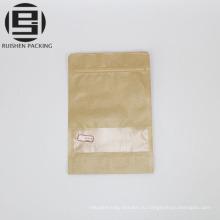 Бумага Kraft стоит вверх мешки упаковывая