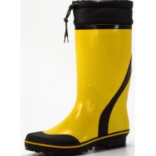 желтый & черный мужской пот Абсорбирующие Прокладки резиновые сапоги