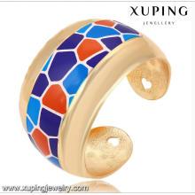 Fashion Xuping 18k Gold-Plated Big Wide Estilo rural joyas de imitación Set -51471