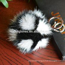 Fur Pendant Color Fur Ball Pendant