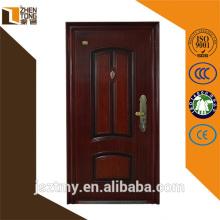 Top sale 0.6mm-1mm steel sheet house door design
