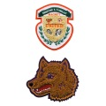 Chenille Embroidery Patches for Jacket Decoration