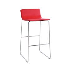 Modern Red High Soft Bar Chair with Metal Leg (SP-HBC246)