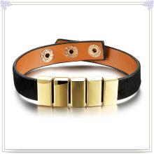 Bijoux fantaisie Bijoux en cuir Bracelet en cuir (LB296)